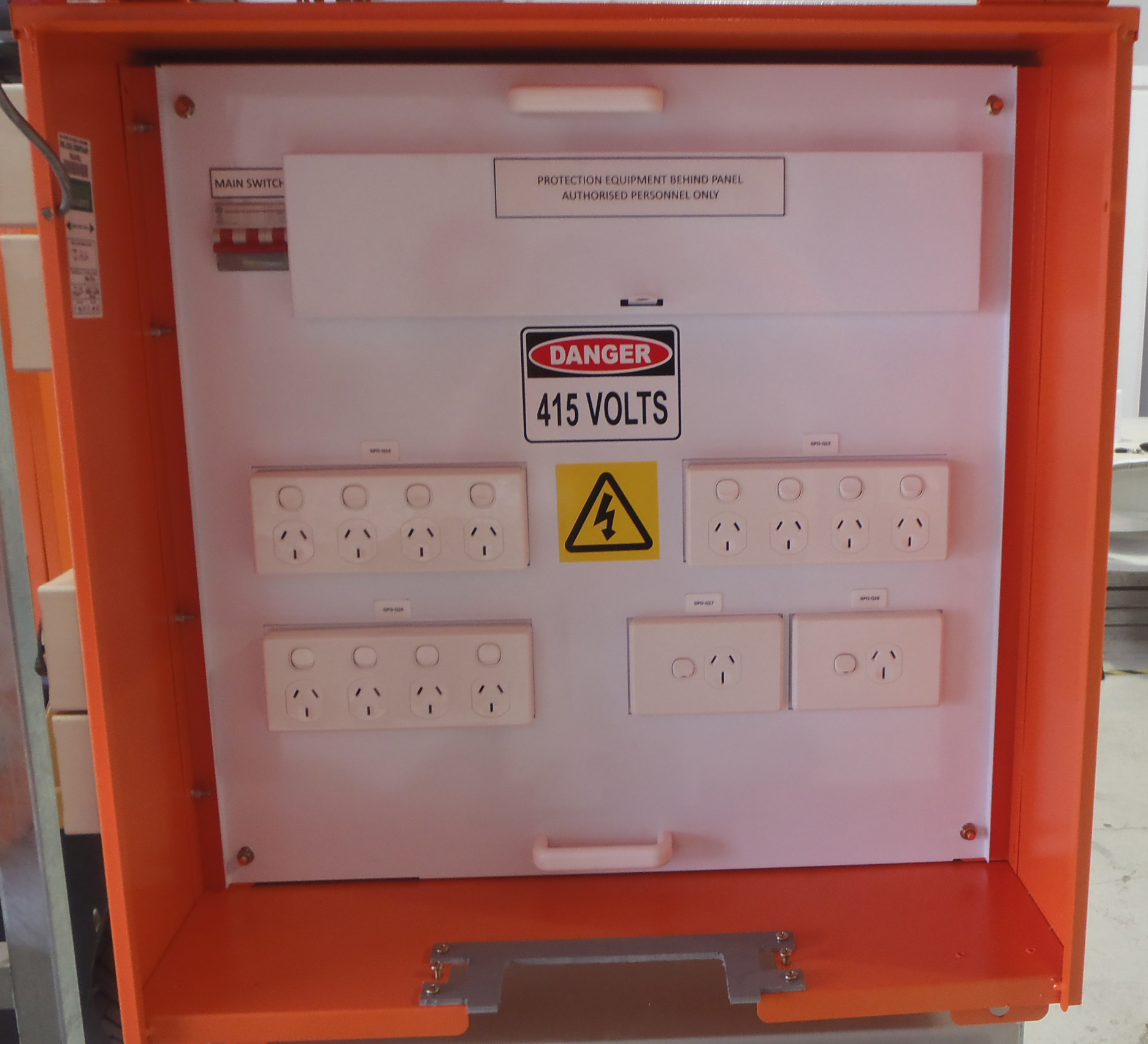 Construction Site Boards: Temporary Site Power Distribution Boards
